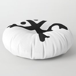 Coqui Taino Floor Pillow