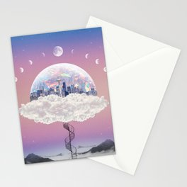 CITY OF PASTEL DREAMS IV Stationery Cards