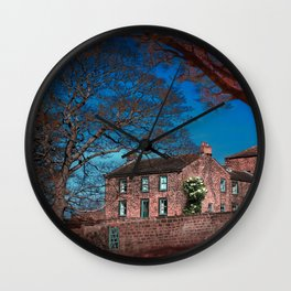Woolley Cottage  Wall Clock