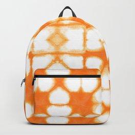 Shibori Ahi Tangerine Backpack