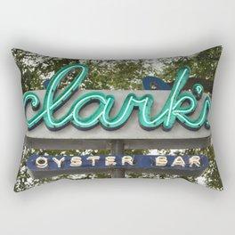 Oyster Bar - Austin, Texas Rectangular Pillow