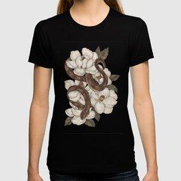 Snake and Magnolias T-Shirt