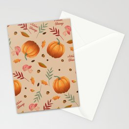 Autumn Harvest Stationery Cards