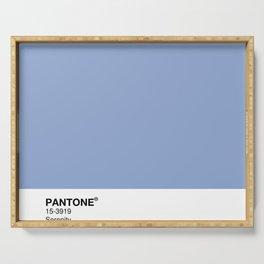 Pantone – Serenity Serving Tray
