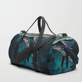 Moonlit Whales Sporttaschen