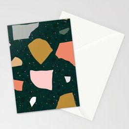Modern Terrazzo Collage 11 Stationery Cards
