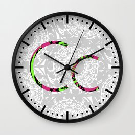 C Wall Clock