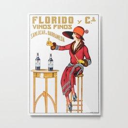 Florido Vinos Finos Spain Metal Print