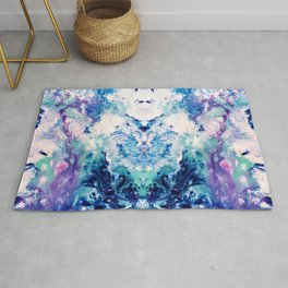 Okul - Abstract Costellation Painting Rug