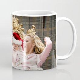 A Bad Moms Christmas 2017 4k Santa Claus Mila Kunis American actresses Kristen Bell Coffee Mug