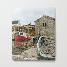 Peggy's Cove, Nova Scotia Metal Print