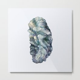 Shell watercolor illustration 1 Metal Print