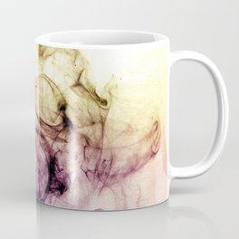 Abstract Purple Brown Smoky Dust Coffee Mug