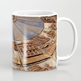 Monmouth's Millennium Ceramic Mosaic Wheel Coffee Mug