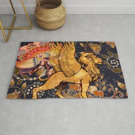 The Winged Lion Rug