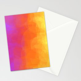 Multicolored dyeing Stationery Cards