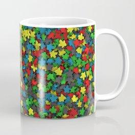 Varicoloured meeples Coffee Mug