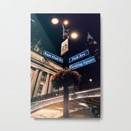 Street Photography in New York Metal Print