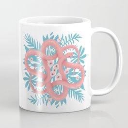 Pink Snakes Coffee Mug