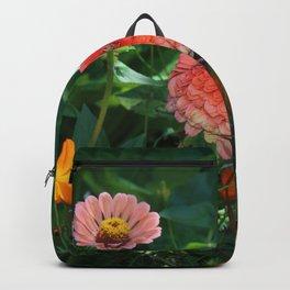 Flowers in Juicy Citrus Colors Backpack