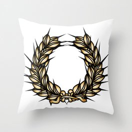 Grown Of Thorns Throw Pillow