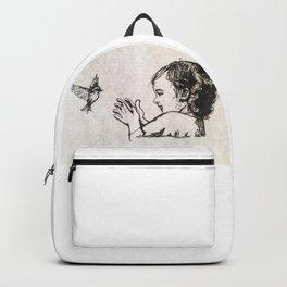 Little bird, Little girl Backpack