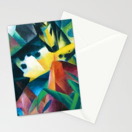 "Franz Marc ""Jumping Horse (Springendes Pferd)"" (II) Stationery Cards"