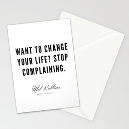 34 | Mel Robbins Quotes | 190802 Stationery Cards