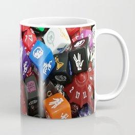 Dungeons and Dragons Dice Coffee Mug
