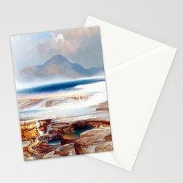 Thomas Moran Hot Springs of Yellowstone Stationery Cards