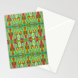 Nn - pattern 2 Stationery Cards