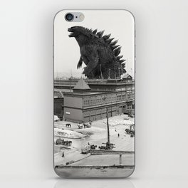 The White Star Line and Godzilla iPhone Skin