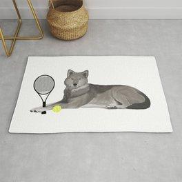 Tennis Wolf Rug