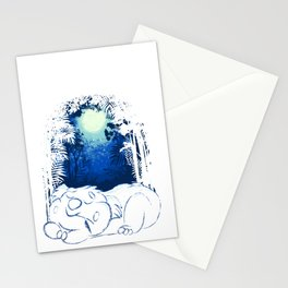 Peaceful Sleepy Koala Bear Stationery Cards