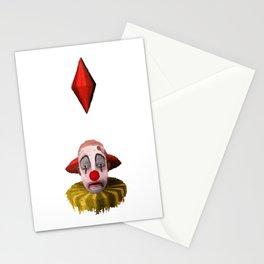 Tragic Clown Stationery Cards