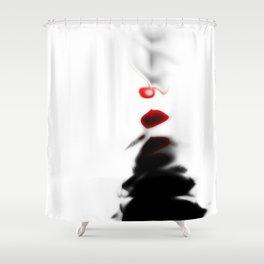 Mademoiselle Courtesan Shower Curtain