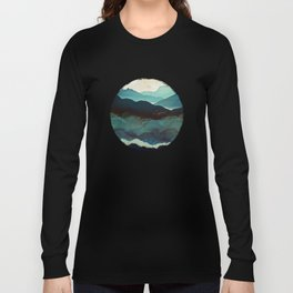 Indigo Mountains Long Sleeve T-shirt