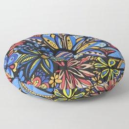 Talavera Bouquet Floor Pillow