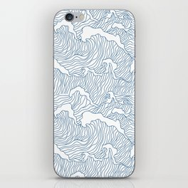 Japanese Wave iPhone Skin