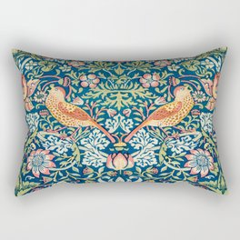 The strawberry thieves pattern by William Morris Rectangular Pillow