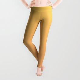 Yellow to Orange Ombre Shaded Orange to Mango Sorbet Ice Cream Gelato Leggings