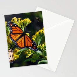 Monarch Meets Goldenrod Stationery Cards