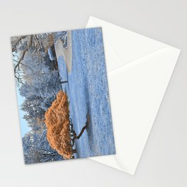 Winter Sapphire Sanctuary Stationery Cards