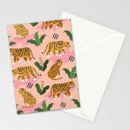 Vintage Tiger Print Stationery Cards