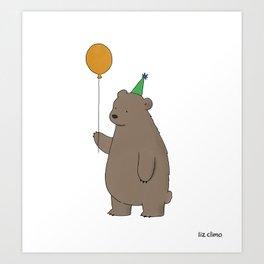 Bear Party Kunstdrucke