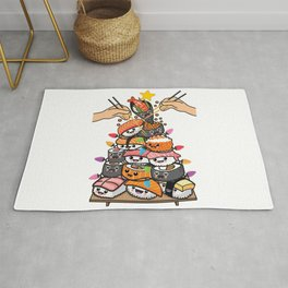 Sushi Party Rug