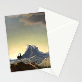 Franz Sedlacek - Evening Landscape - Abendlandschaft Stationery Cards