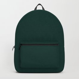 Dark Emerald Green Backpack