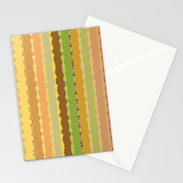 Multi-faceted decorative lines 10 Stationery Cards
