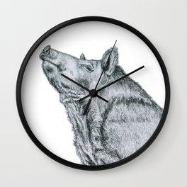 First, take a long jog, then reward yourself by eating like a hog! Wall Clock